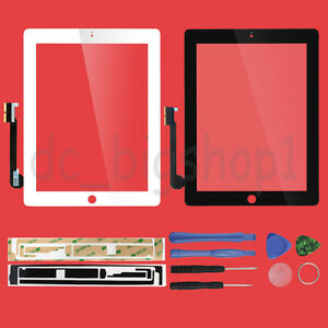 For-Apple-iPad-3-MC705LL-A-Replacement-Front-Panel-Touch-Digitizer-Screen-Glass