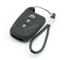 Black Remote Silicone Case Cover For Kia 3 Buttons Smart Key Optima K5 K3BK