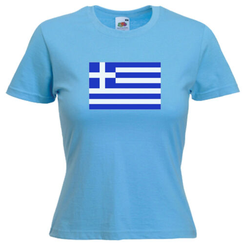 La Grèce PAVILLON GREC FEMME LADY fit T Shirt