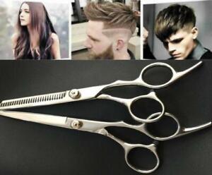 Salon-Professional-Barber-Hair-Cutting-Thinning-Scissors-Shears-Hairdressing-Set