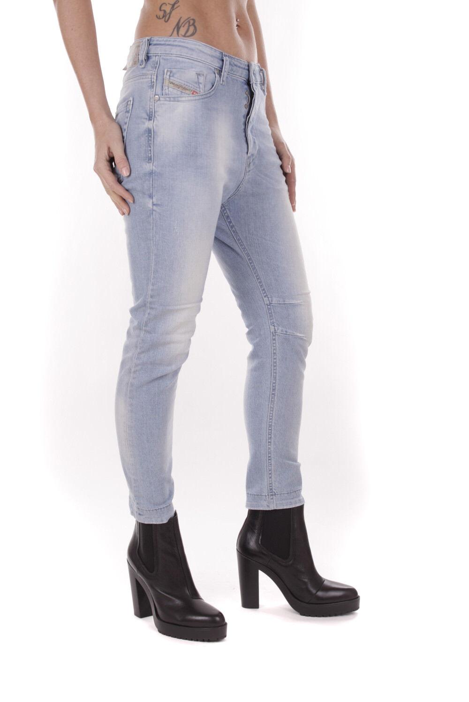 Diesel Eazee 0839G Stretch Pantalones Vaqueros de women Boyfriend