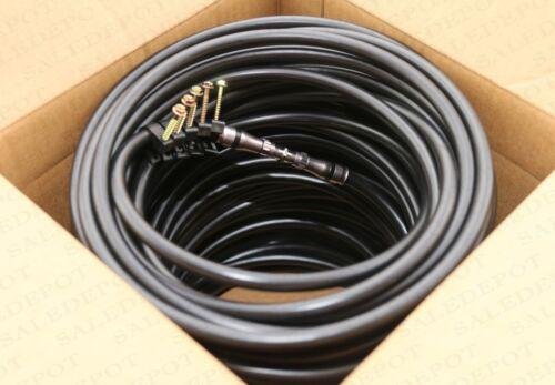 100 FT RG11 COAX CABLE DROP Underground INDOOR//OUTDOOR Direct Burial w GEL 100/'