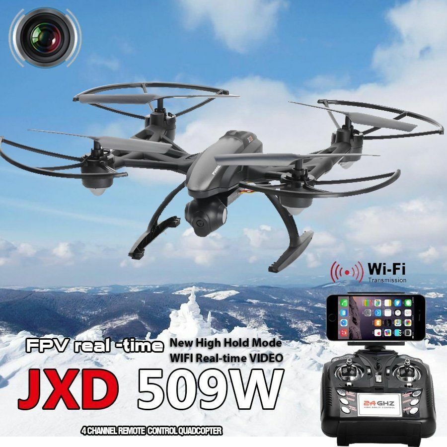 JXD 509W WiFi FPV With With With 720P Camera 2.4GHZ 4CH 6-Aixs RC Quadcopter RTF c69aba
