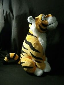 Disney-Store-Aladdin-Raja-Jasmine-039-s-Tiger-Plush-Stuffed-Animal-Sitting-14-034-Tall