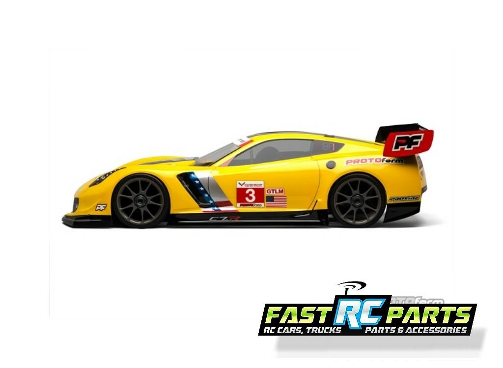 Chevrolet Corvette C7.R Clear Body for 1/8 GT PRM1546-40