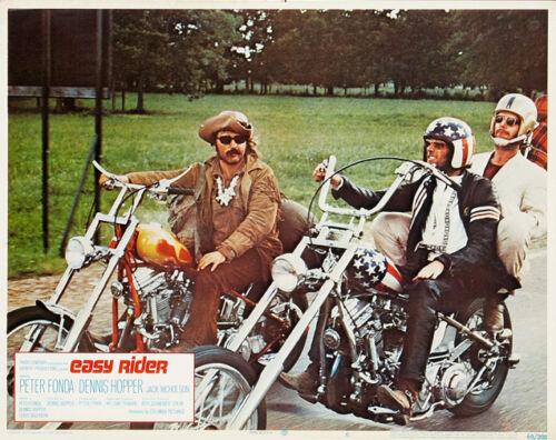 """Easy Rider Lobby Card Movie Poster Replica 11x14/"""" Photo Print"""
