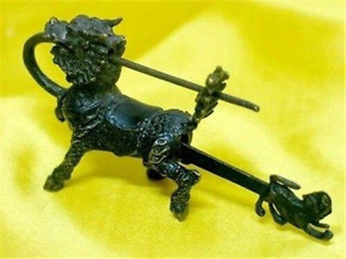 key Chinese old style Brass Kylin Figure lock