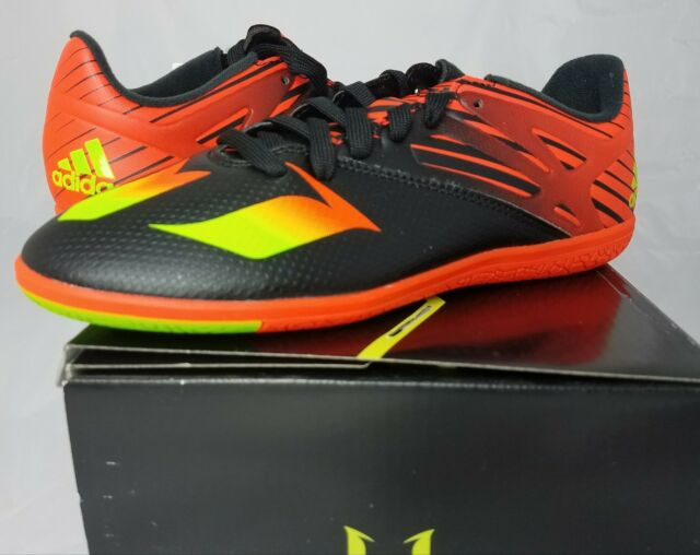 the best attitude f280a b8ccd adidas Messi 15.3 indoor Junior Football Trainers boys girls - UK 5.5
