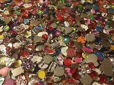 100 Piece Wholesale Lot of Random Floating Charms For Living Lockets - US Seller