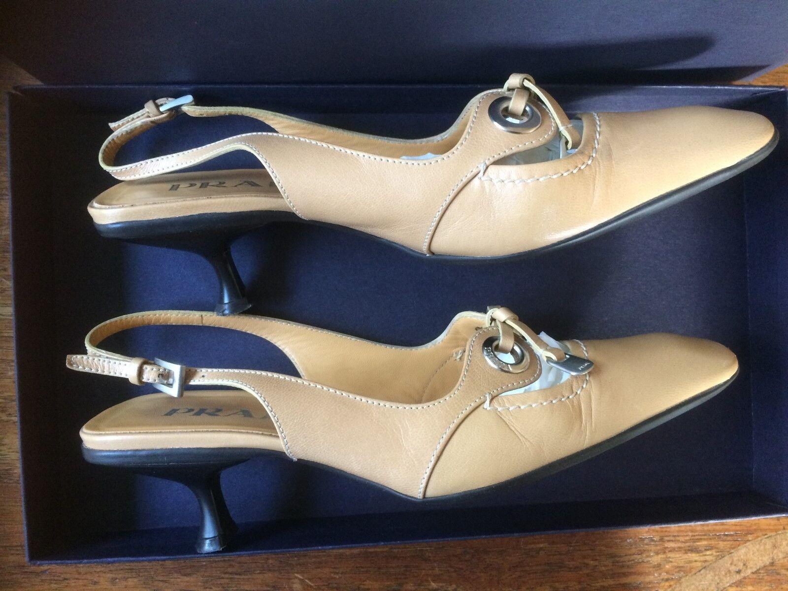 Prada calzature donna madras size 4.5//EU   4.5//EU size 35 b7e81f