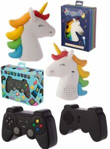 3D-Game-Over-Controller-Unicorn-Novelty-Bluetooth-Speaker-Portable-Wireless-Gift