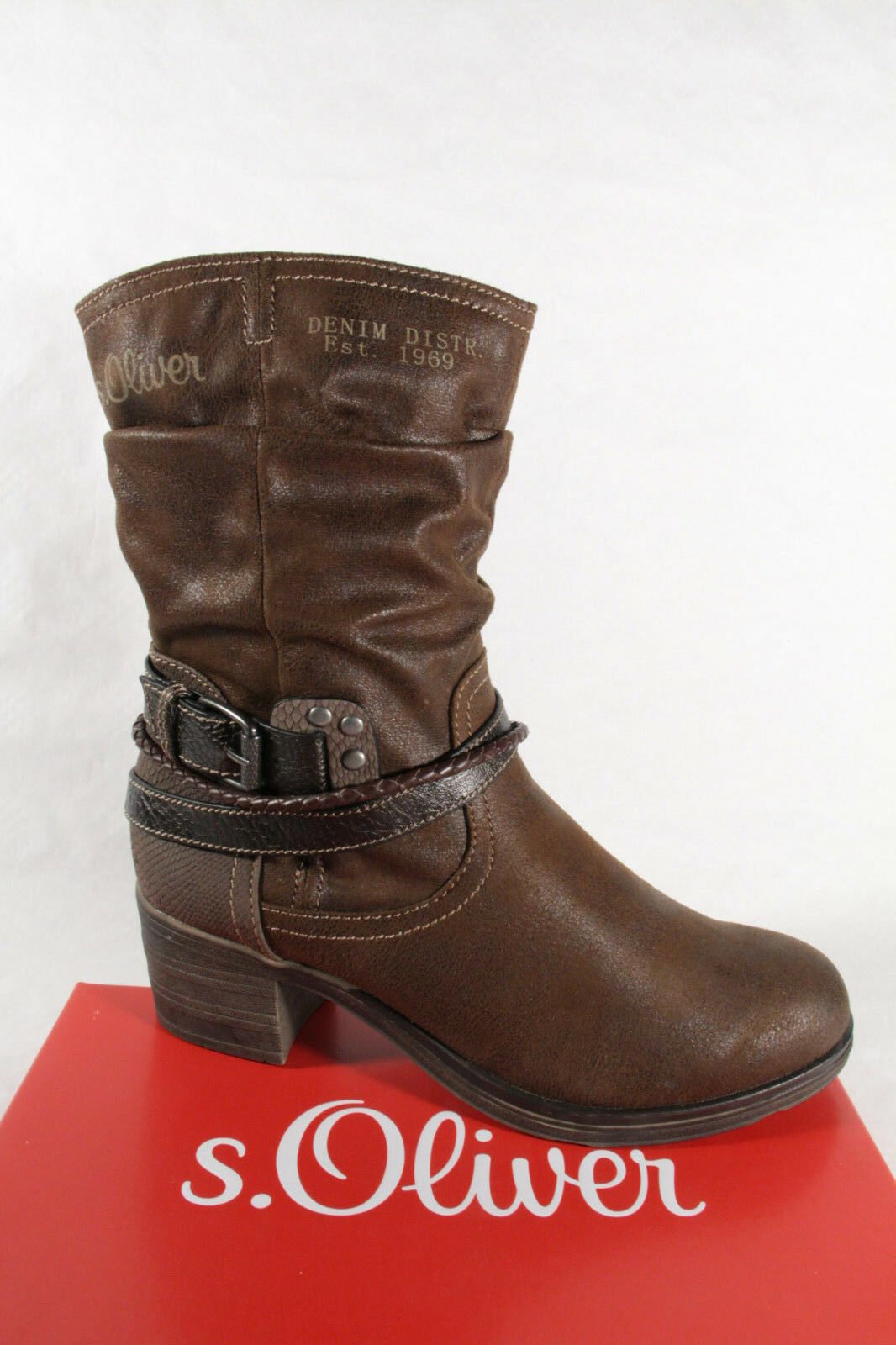 S.Oliver 25346 Boots, Ankle Boots Winter Boots Brown 25346 NEW