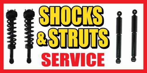 "24/"" 48/"" repair auto 36/"" 60/"" Shocks and Struts Service Vinyl Banner Sign"