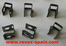 STUDER REVOX A77, B77 6 CLIPS - STAPLES FOR CHASSIS Ref: 22.16.2021