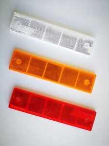 Mehrkammer-Reflektoren-MKLeitzeichen-unverspiegelt-180x40mm-eckig-mehrere-Farben