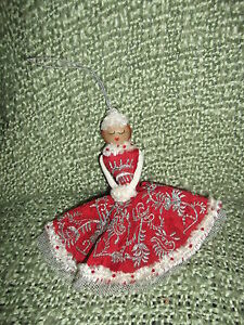 So-Pretty-hand-crafted-Christmas-Lady-Fabric-Ornament-well-detailed