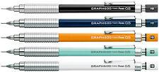 Pentel  GRAPH 600 5 X  PG605  0.5mm Drafting Mechanical Pencil  5 colors set