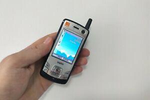 RARE Sanyo S750 argento (Arancione) Cellulare Smartphone oggetto da collezione vintage