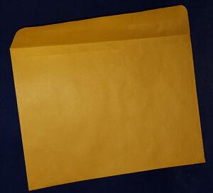 kraft mailing envelope 8 1 2 x 11 3 8 28 lb side open box of
