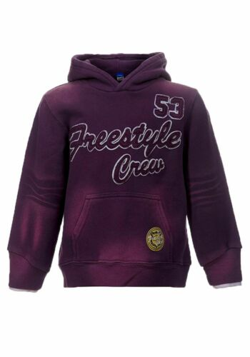 Adams Kids INGHILTERRA moda Hoodie Maglione Viola giovani 104 110 116 122 128 134 140