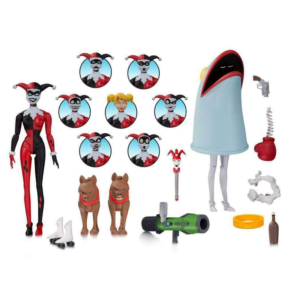Batman The animierte Series HARLEY QUINN Expressions Pack Action Figure Dc