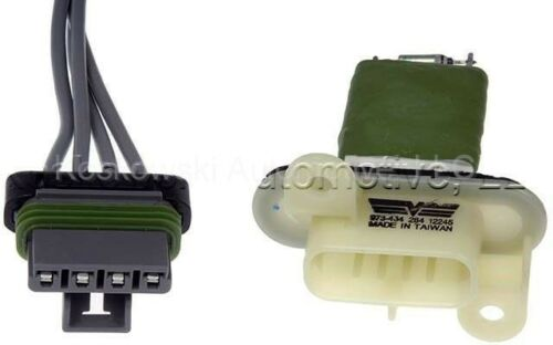 Chevy GMC Heater Blower Motor Resistor 15218254 Dorman 973-434 Colorado Canyon