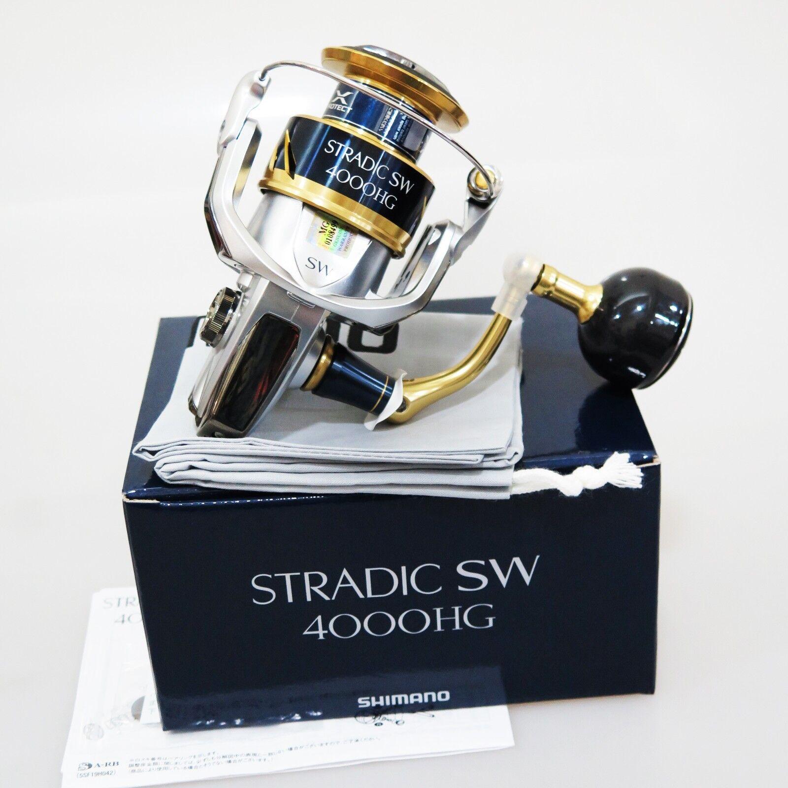 18 Shimano Stradic SW4000HG Spinning Cocheretes FedEx Priority 2 días Envío a EE. UU.