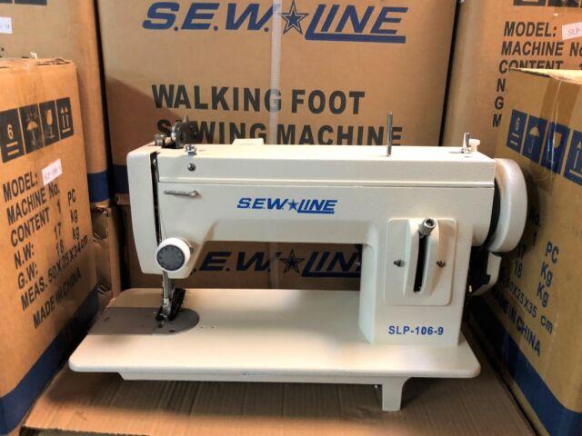 Sewline Slp4040 40 Inch Bed Walking Foot Reverse Industrial Sewing Awesome Sewline Walking Foot Sewing Machine