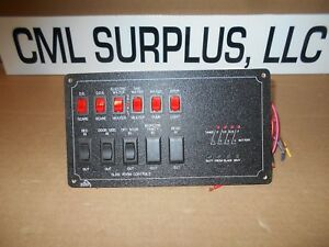Details about *KIB SYSTEMS CONTROL MONITOR PANEL RV WATER HEATER M1180 FREE  SHIPPING