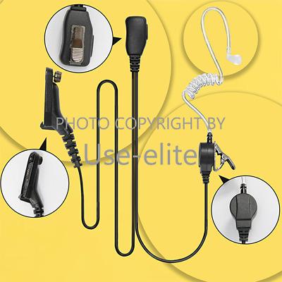1-wire Mic Earpiece for Motorola XPR6350 XPR7550 DGP6150 DP3600 Handheld