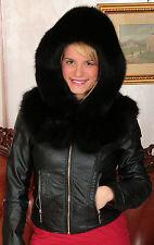 fox fur hood hat pelzhaube fuchs hut cappuccio pelliccia volpe chapeau renard