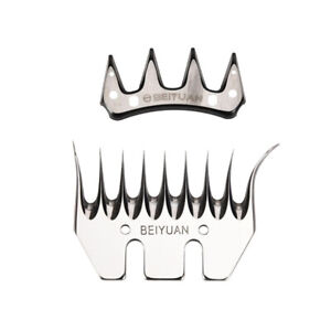4 Teeth Stainless Steel Sheep Goat Clipper Blade Tooth For Electric Clipper Farm