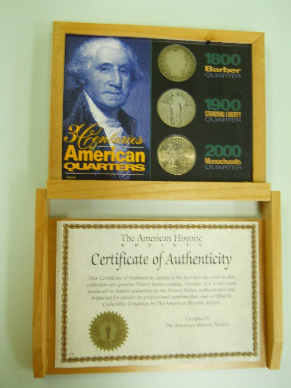 American Coin Treasures 3 Centuries of American Quarters Quarters American f989d0
