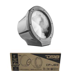 DS18 CF-JS8 Carbon Fiber POD Universal Enclosure 8 NO Speaker Marine Pair for All Elements Jet SKI Jeep /& UTV//ATV