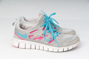 Nike Free Run 2 GS shoes pink black