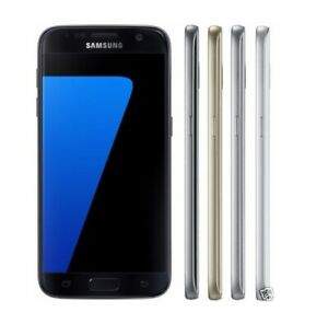 Samsung-Galaxy-S7-32GB-SM-G930A-AT-amp-T-Factory-Unlocked-GSM-Phone-Multi-Colors