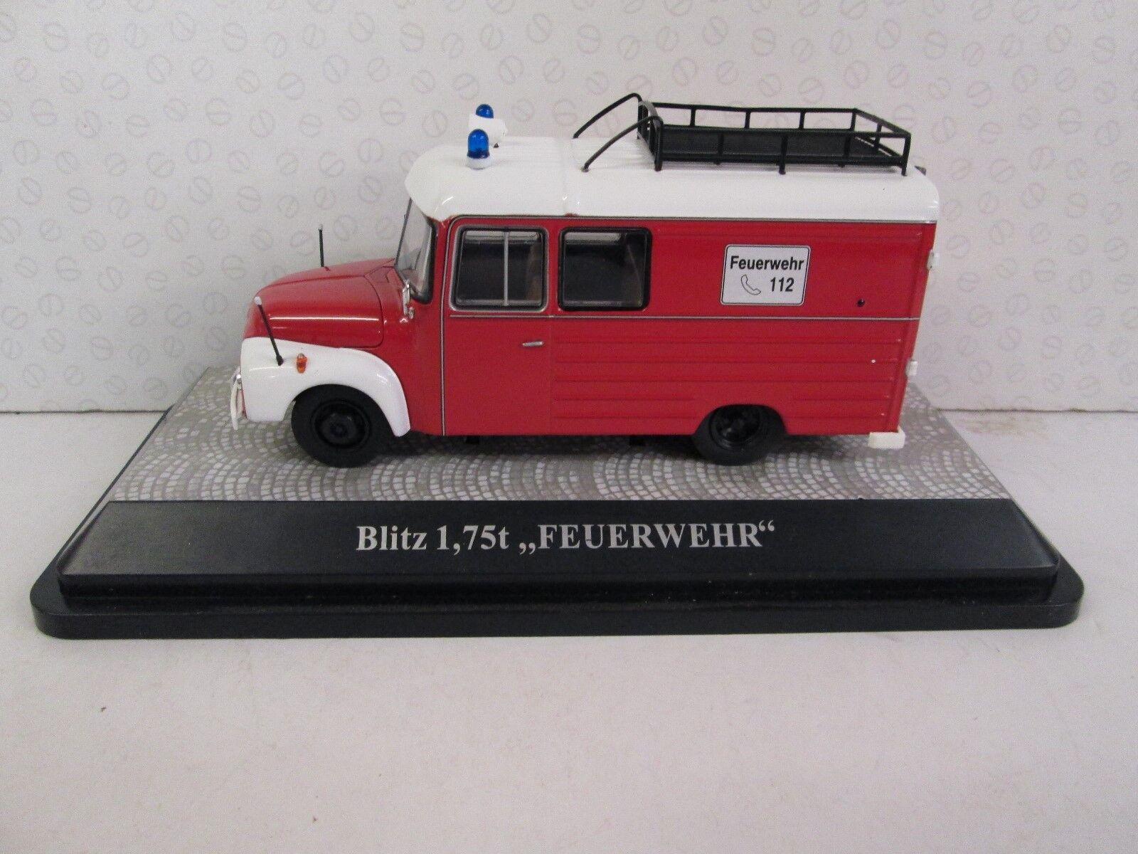 Premium Classixx. Blitz 1, 1, 1, 75t. Feuerwehr. 1 43. 11609 Rojo 4e2f64