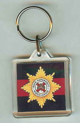 Acrylic Military Key Ring Coldstream Guards  Mk2