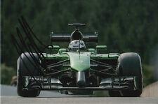 ANDRE LOTTERER CATERHAM F1 HAND SIGNED 6X4 PHOTO 21.