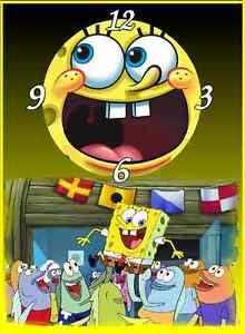 SpongeBob Wall Clock  They make gr8 Gifts