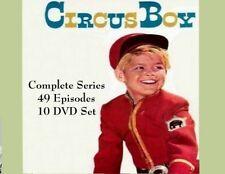 CIRCUS BOY  Complete Series 1956-1958  49 Episode 10 DVD Set