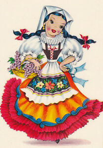 International Doll Sweden Swedish Counted Cross Stitch Pattern Chart Graph