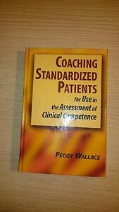 Coaching-Standardized-Patients-Ex-Library-Book-very-good