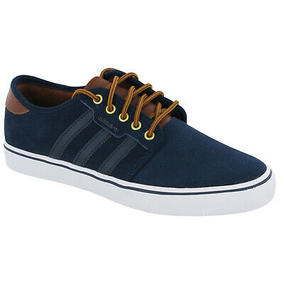 Gewissenhaft Adidas Seeley Casual Shoes Mens Plimsoles Trainers F37423