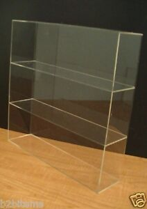DS-Acrylic-Counter-top-Display-Case-16-034-x-4-034-x-16-034-Show-Case-Cabinet-Shelves