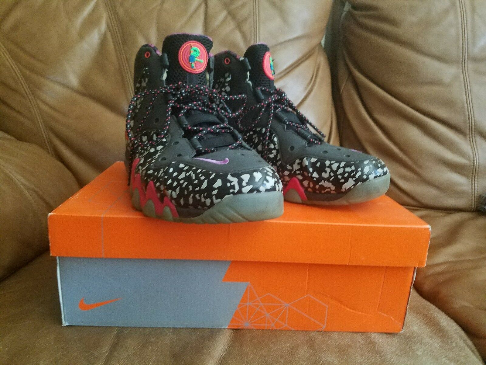 Nike Charles Barkley All Star Area 72 Foams Size 10  FREE SHIPPING