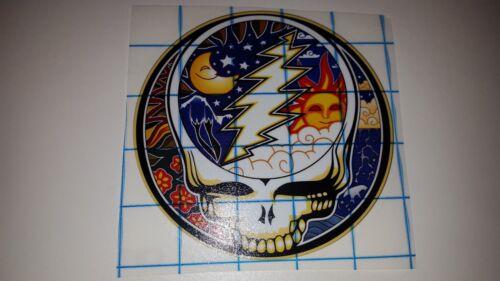 Moon skull circle day night nature Vinyl car truck van window decal sticker