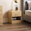 thumbnail 16 - Riano Hulio 1 2 3 Bedside Cabinet Chest Wood High Gloss Bedroom Storage Unit