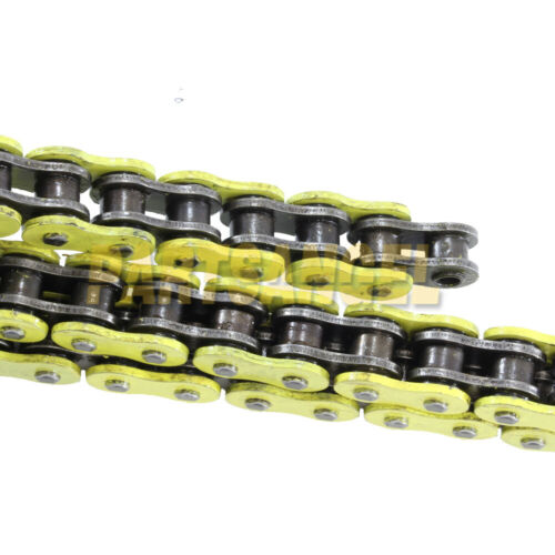 Yellow 520x76 O-Ring Chain For 2002 2003 2004 2005 2006 Polaris Trail Blazer 250