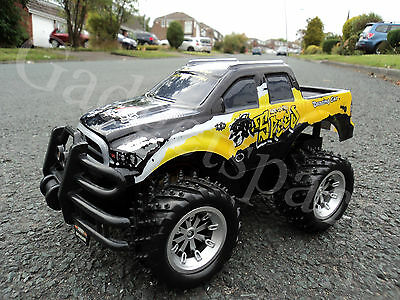 MONSTER TRUCK QUICK SPEED PICKUP RADIO REMOTE CONTROL CAR - FAST SPEED NEW BOXED